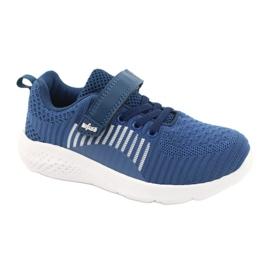 Befado obuwie dziecięce  516Y063 niebieskie 1