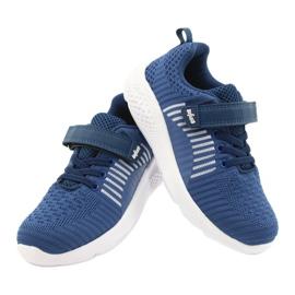 Befado obuwie dziecięce  516Y063 niebieskie 4