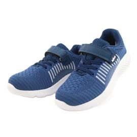 Befado obuwie dziecięce  516Y063 niebieskie 2