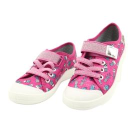 Befado obuwie dziecięce 251X167 różowe srebrny 2