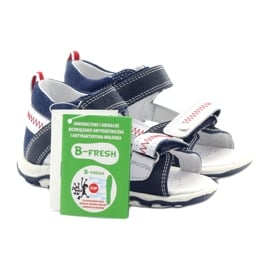 Sandałki chłopięce rzepy Bartek 81824 gr 5