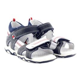 Sandałki chłopięce rzepy Bartek 81824 gr 4