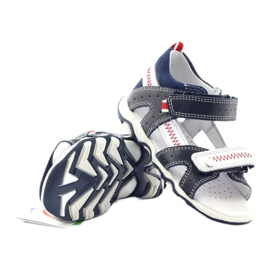 Sandałki chłopięce rzepy Bartek 81824 gr 3