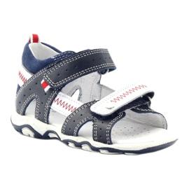 Sandałki chłopięce rzepy Bartek 81824 gr 1