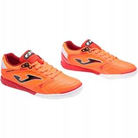 Buty piłkarskie Joma Dribling M 2108 In Sala wielokolorowe pomarańczowe 1