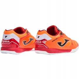 Buty piłkarskie Joma Dribling M 2108 In Sala wielokolorowe pomarańczowe 2