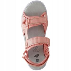 Sandały dla dziewczynki 4F jasny róż HJL21 JSAD001 56S różowe 1
