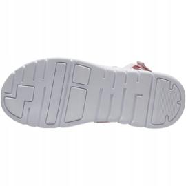 Sandały 4F Jr HJL21 JSAD001 56S czarne różowe 2