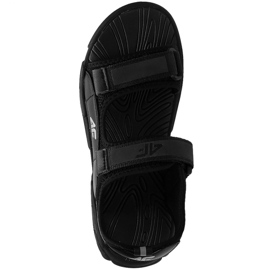Sandały 4F Jr HJL21 JSAM002 20S czarne 1