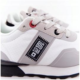 Dziecięce Sportowe Buty Memory Foam Big Star HH374168 Białe 5