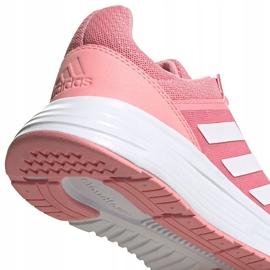 Buty damskie do biegania adidas Galaxy 5 różowe FY6746 3