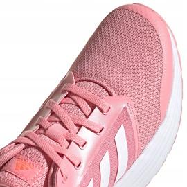 Buty damskie do biegania adidas Galaxy 5 różowe FY6746 4