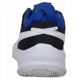 Buty do koszykówki Nike Team Hustle D 10 Big Basketball Shoe Jr CW6735 005 czerwony, biały, czerwony, granatowy czerwone 6