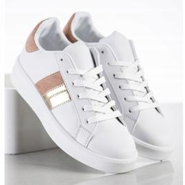 SHELOVET Casualowe Białe Sneakersy 2