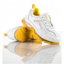 Goodin Sneakersy Ze Skóry białe 1