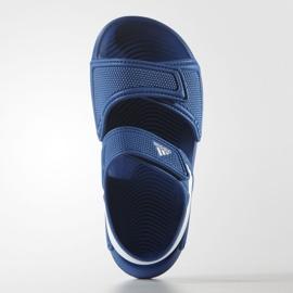 Sandały adidas Akwah 9 Jr S74649 niebieskie 1