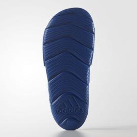 Sandały adidas Akwah 9 Jr S74649 niebieskie 2