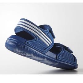 Sandały adidas Akwah 9 Jr S74649 niebieskie 3