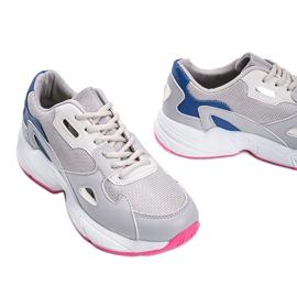 Szare sneakersy damskie Kendall 1