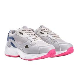 Szare sneakersy damskie Kendall 2