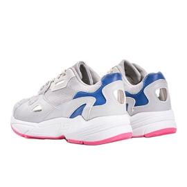 Szare sneakersy damskie Kendall 3