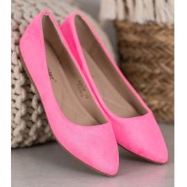 Seastar Neonowe Balerinki różowe 5