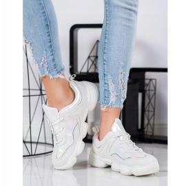 Kylie Stylowe Buty Sportowe białe 2