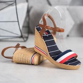 Yes Mile Sandały Z Kolorowymi Paskami wielokolorowe 2