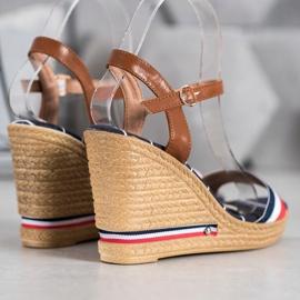 Yes Mile Sandały Z Kolorowymi Paskami wielokolorowe 1