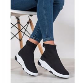 SHELOVET Buty Sportowe Za Kostkę czarne 1