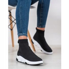 SHELOVET Buty Sportowe Za Kostkę czarne 4