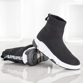 SHELOVET Buty Sportowe Za Kostkę czarne 3