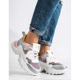 SHELOVET Modne Sneakersy wielokolorowe 1