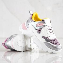 SHELOVET Modne Sneakersy wielokolorowe 2