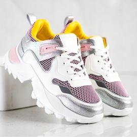 SHELOVET Modne Sneakersy wielokolorowe 3