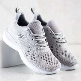 Bona Lekkie Szare Sneakersy 1