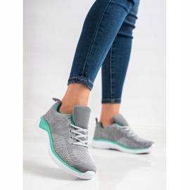 Bona Lekkie Szare Sneakersy 3