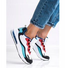 SHELOVET Tekstylne Sneakersy wielokolorowe 3