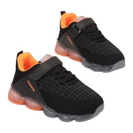 Vices 3XC8081-LED-138-black/orange czarne 2