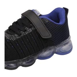 Vices 3XC8080-LED-156-black/blue czarne 2