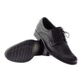 Półbuty męskie klasyczne TUR 308 czarne 3