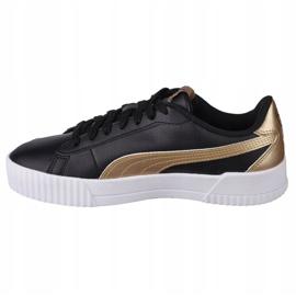Buty Puma Carina W 368879 02 czarne złoty 1
