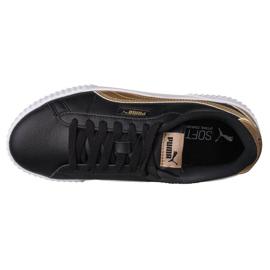 Buty Puma Carina W 368879 02 czarne złoty 2