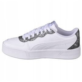 Buty Puma Skye W 368882 02 białe czarne 1