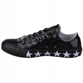 Buty Converse Chuck Taylor All Star Miley Cyrus W 563720C czarne 1