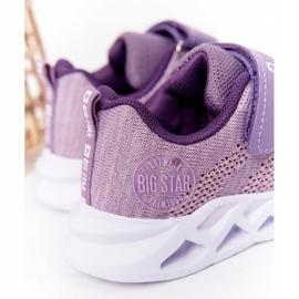 Dziecięce Sportowe Buty Sneakersy Big Star HH374183 Fioletowe 6