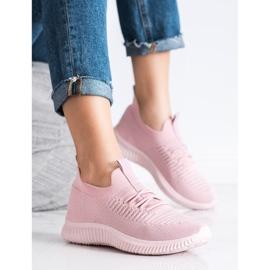 Różowe Sneakersy MCKEYLOR 2