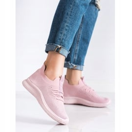 Różowe Sneakersy MCKEYLOR 3