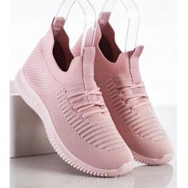 Różowe Sneakersy MCKEYLOR 1