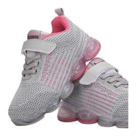 Vices 3XC8078-LED-197-grey/fushia różowe szare 1